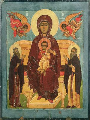 Божья Матерь на престоле 300.jpg