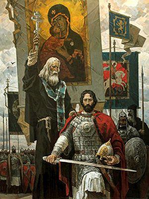 Картина Сергий Радонежский и Димтрий донской 300.jpg